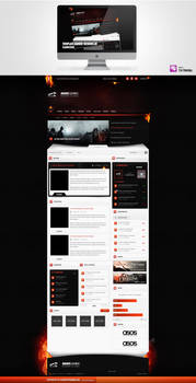 Upcoming Template 4 Gamer-Designs.de by schuetzthomas