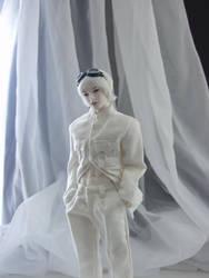 Man in White by dollist