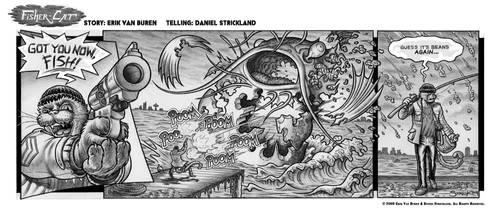 Fisher-Cat Strip 2 by strickart