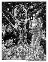 Space Opera Cosmosis by strickart