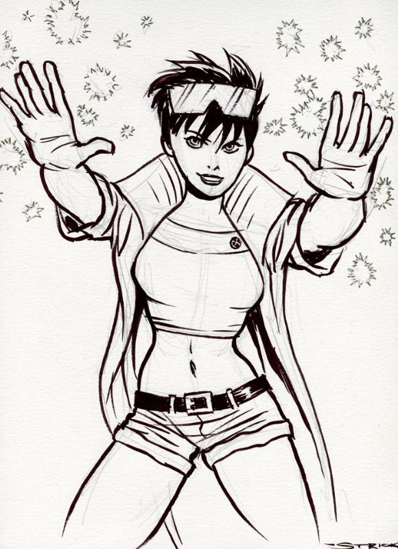 Jubilee Con Sketch by strickart