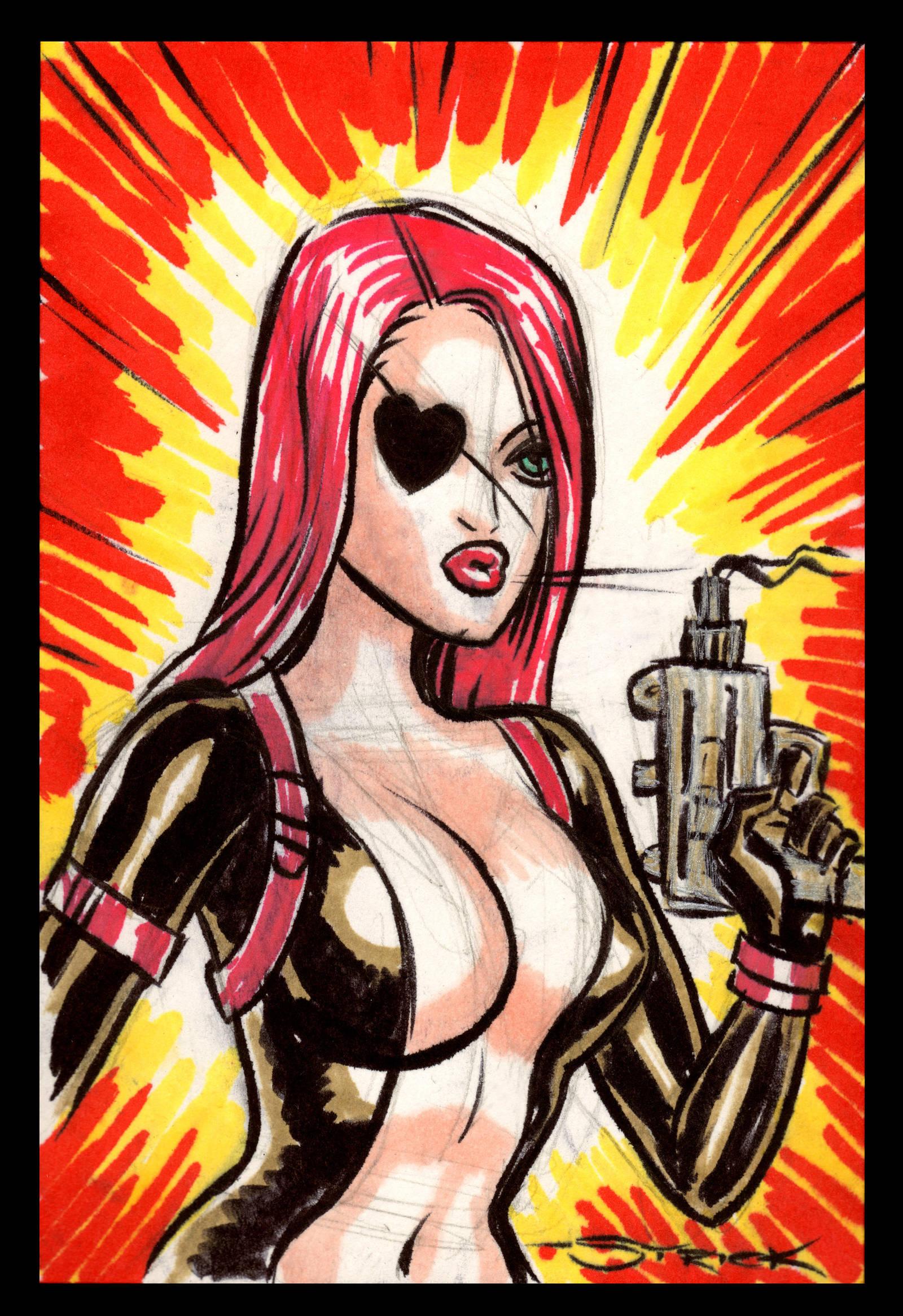 Molotov Con Sketch by strickart