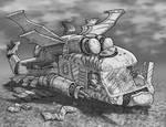 Wreckage I by strickart