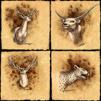 Buckhorns by strickart