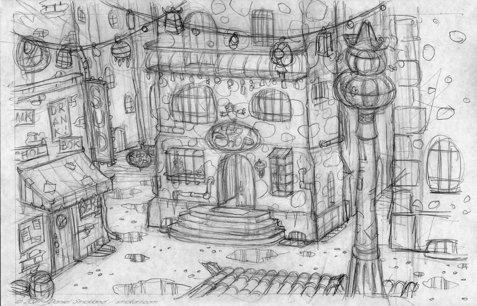 RS Shop -front- by strickart