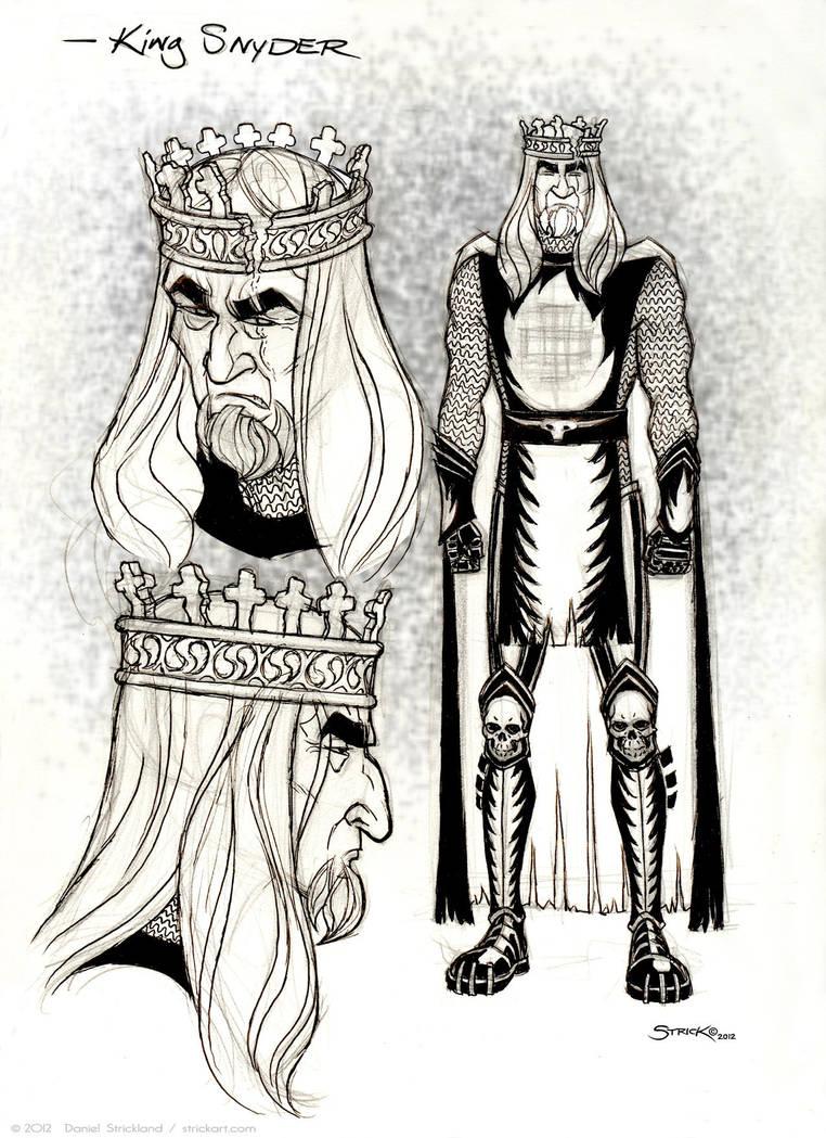 King Snyder by strickart