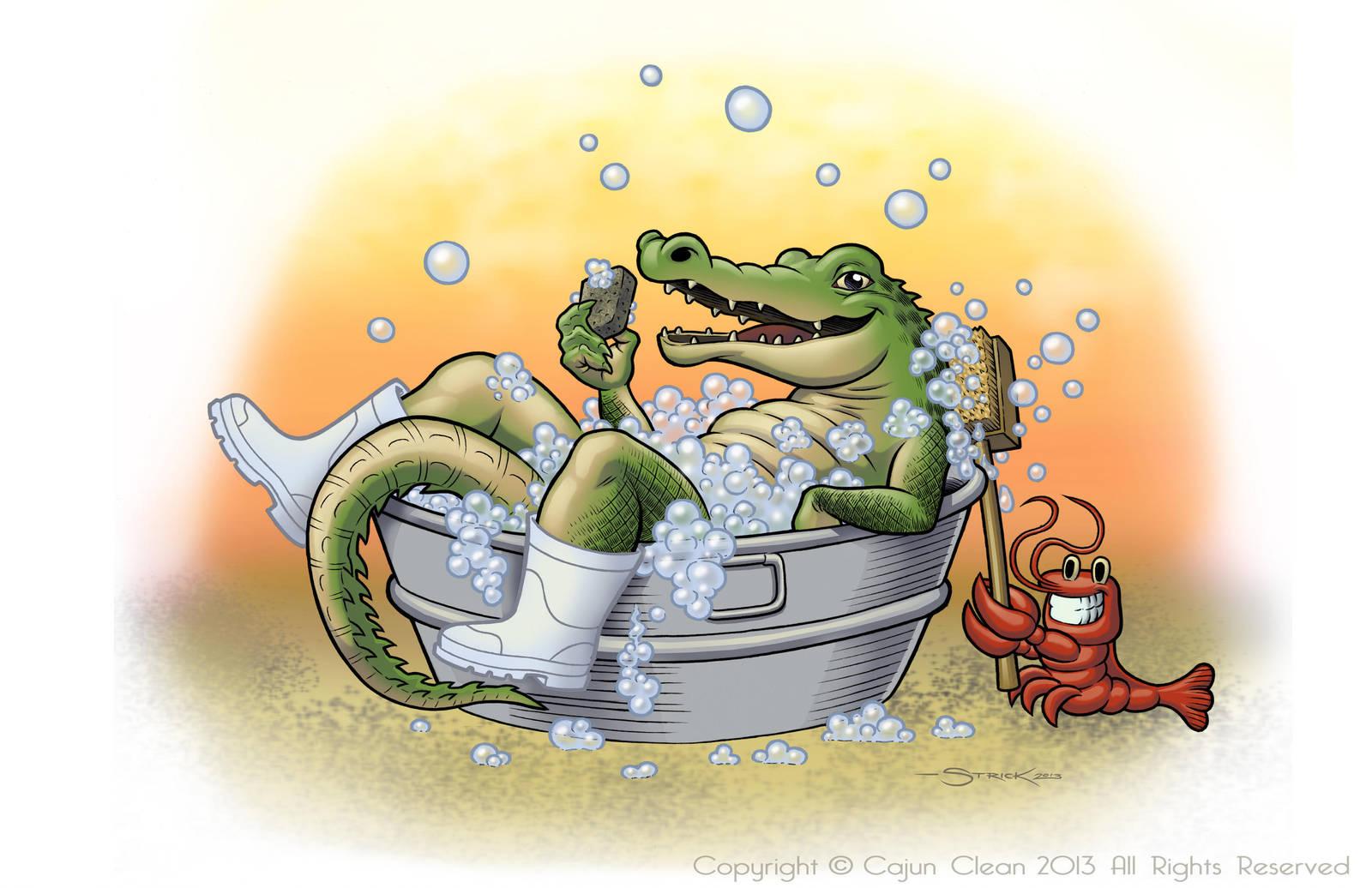 Cajun Clean Gator 2 by strickart