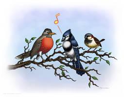 Tweeet! by strickart
