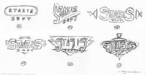 Logo Sketches 4 by strickart