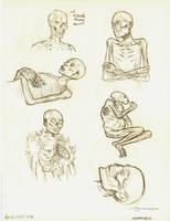 Mummy Sketches by strickart