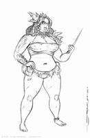 JENN character sketch 1 by strickart