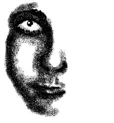Shaded Face by Kutanra
