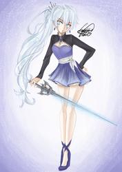 Weiss Schnee by CaitlinCrafts