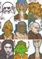 Star Wars Galaxy 4 batch 4 by NORVANDELL