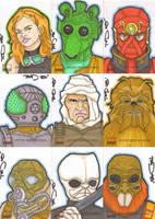 Star Wars Galaxy 4 batch 6 by NORVANDELL