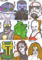 Star Wars Galaxy 4 batch 10 by NORVANDELL
