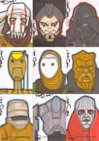 Star Wars Galaxy 4 batch 11 by NORVANDELL