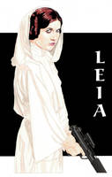 Princess Leia 3 by NORVANDELL