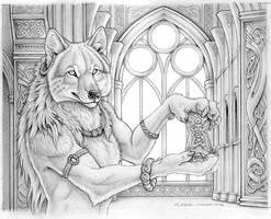 Werewolf Calendar - Pencils by synnabar