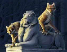 Werewolf Calendar 2012 by synnabar