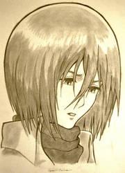 Mikasa by Legeenda