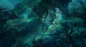 Forbidden City of the Frozen - Underwater Version by ARTdesk
