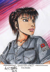 Leticia Scketch copia by wkohama