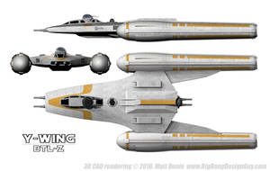 Y-Wing 03 Schematic by Ravendeviant