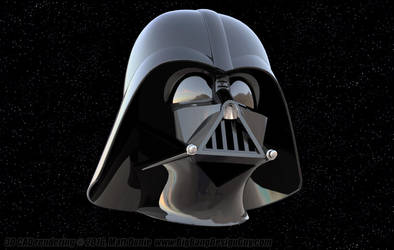 Darth Vader Helmet 01 by Ravendeviant