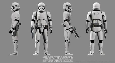 Stormtrooper Turnaround by Ravendeviant