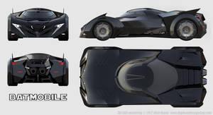 Telltale Batmobile Schematics by Ravendeviant