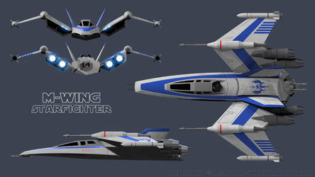 M-Wing Schematic 01 by Ravendeviant