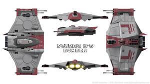 Scurrg H-6 Bomber Schematics by Ravendeviant