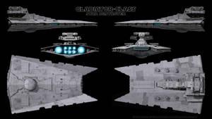 Gladiator-Class Star Destroyer - Schematics by Ravendeviant
