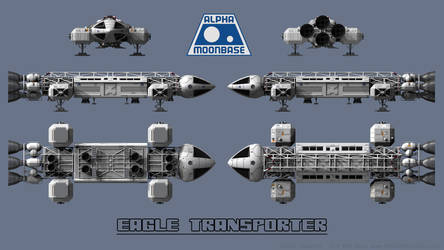 Eagle Transporter Schematic 01 by Ravendeviant