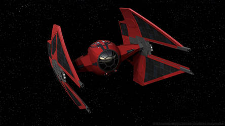 Vonreg's First Order TIE Interceptor by Ravendeviant