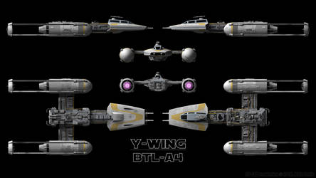Y-Wing Schematics - 1-Person Variant by Ravendeviant