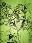 Xenoblade Tribute: Sharla by MaruroSan