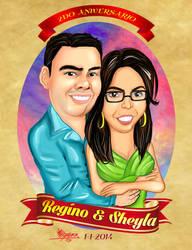 Sheyla y Regino Carta by MaruroSan