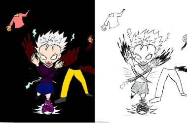 Killua Fan Art by mrsticky005