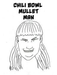 Fan Art: Chili Bowl Mullet Man by mrsticky005