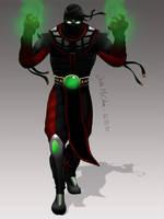Ermac Mortal Kombat 9 Painting by JustMcCollum
