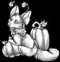 Halloween Wolf Freebie by MooiLeven
