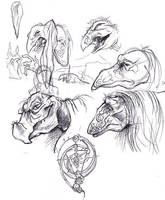 The Dark Crystal sketches by gryen