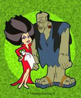 Hidra y Frank Frankenpiedra by HB-FAN