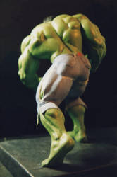 The Incredible HULK sculpture - statue - Photo 26 by JIM-SWEET