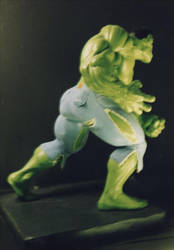 The Incredible HULK sculpture - statue - Photo 29 by JIM-SWEET
