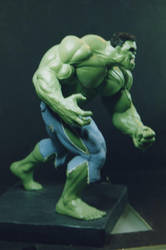 The Incredible HULK sculpture - statue - Photo 31 by JIM-SWEET
