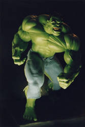 The Incredible HULK sculpture - statue - Photo 33 by JIM-SWEET