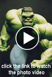 The Incredible HULK sculpture - Photo 37 THE VIDEO by JIM-SWEET
